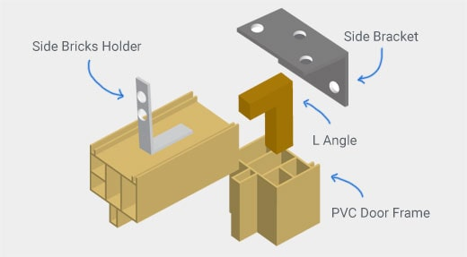 PVC Door Frame Diagram