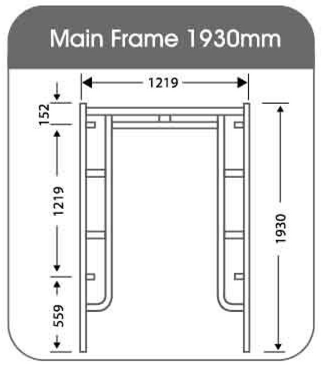 ASF-LI Ladder End Frame